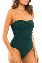 Jets by Jessika Allen J D/dd Bandeau One-Piece - Front full body