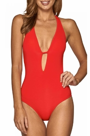 Jets by Jessika Allen J Jetset Plunge One-Piece - Product Mini Image