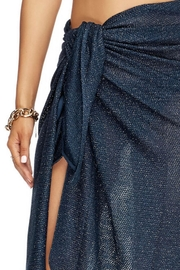 Jets by Jessika Allen Mirage Navy Sarong - Product Mini Image