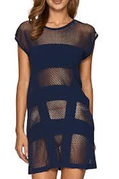 Shoptiques Product: Panelled Shift Dress
