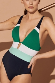 Jets by Jessika Allen Revolve Colourblock One-Piece - Product Mini Image