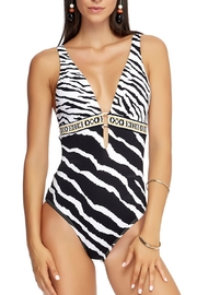 Jets by Jessika Allen Selva Plunge One-Piece - Product Mini Image