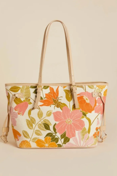 Spartina 449 Jetsetter Tote - Honey Horn - Product List Image