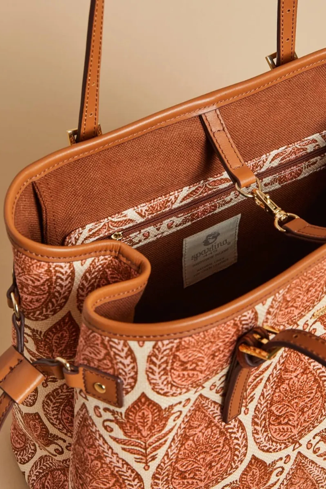 Spartina 449 Jetsetter Tote-Pink House - Side Cropped Image