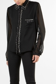 BEULAH STYLE Jewel Embellished Blouse - Front full body