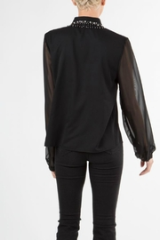 BEULAH STYLE Jewel Embellished Blouse - Side cropped