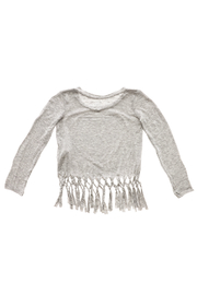 Rock Candy Jeweled Heart Fringe Top - Back cropped