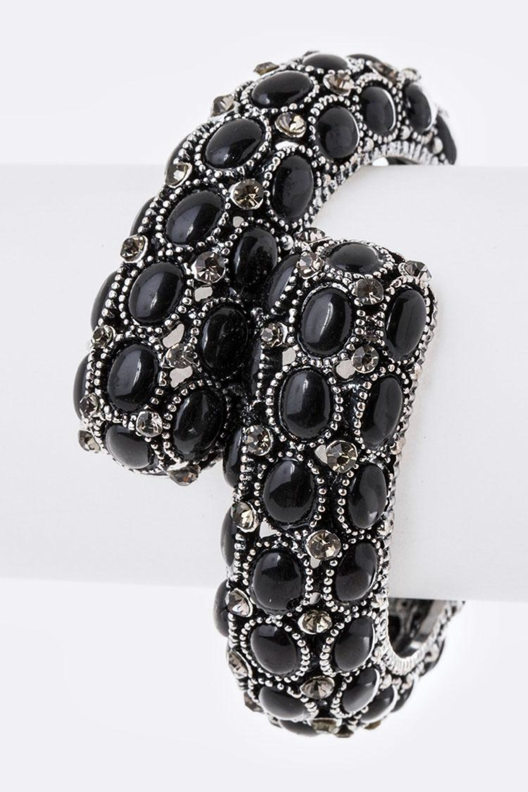 Nadya's Closet Jeweled Hinge Bangle - Main Image