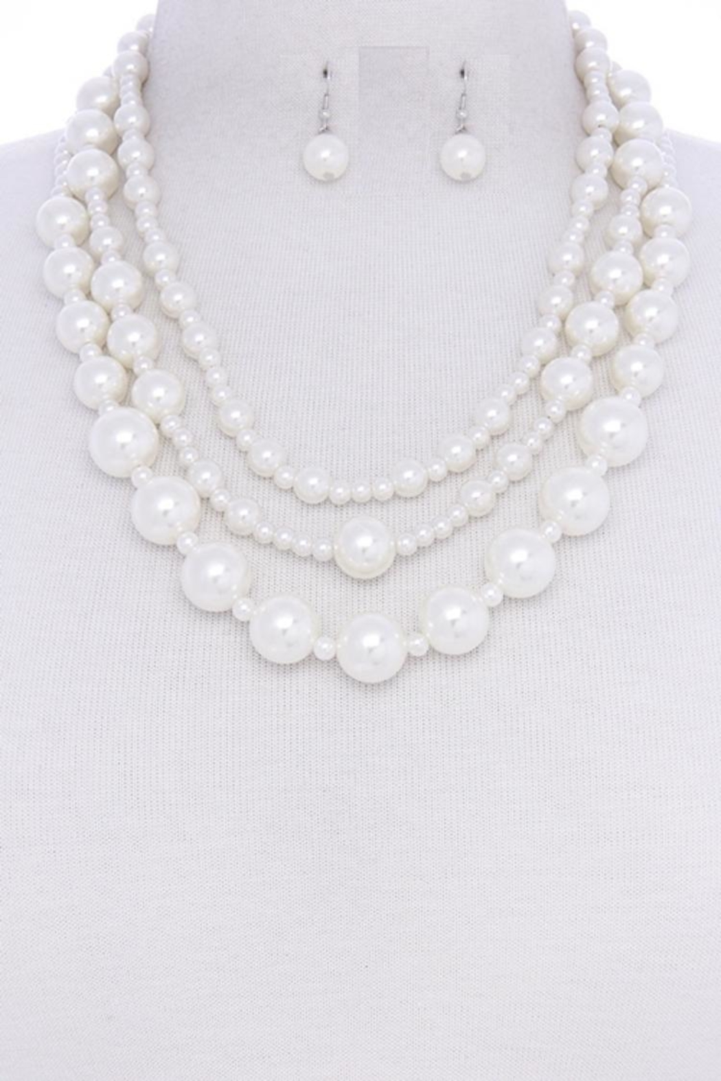 Jewellery Pearl Cluster Set - Main Image