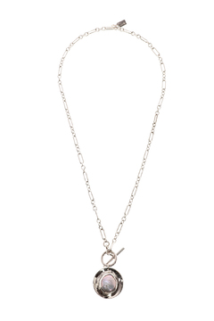 Shoptiques Product: Coin Pearl Reversible Necklace