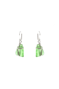 Shoptiques Product: Green Seaglass Earring