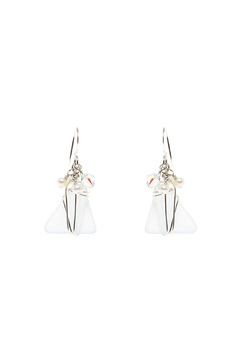 Shoptiques Product: White Seaglass Earring