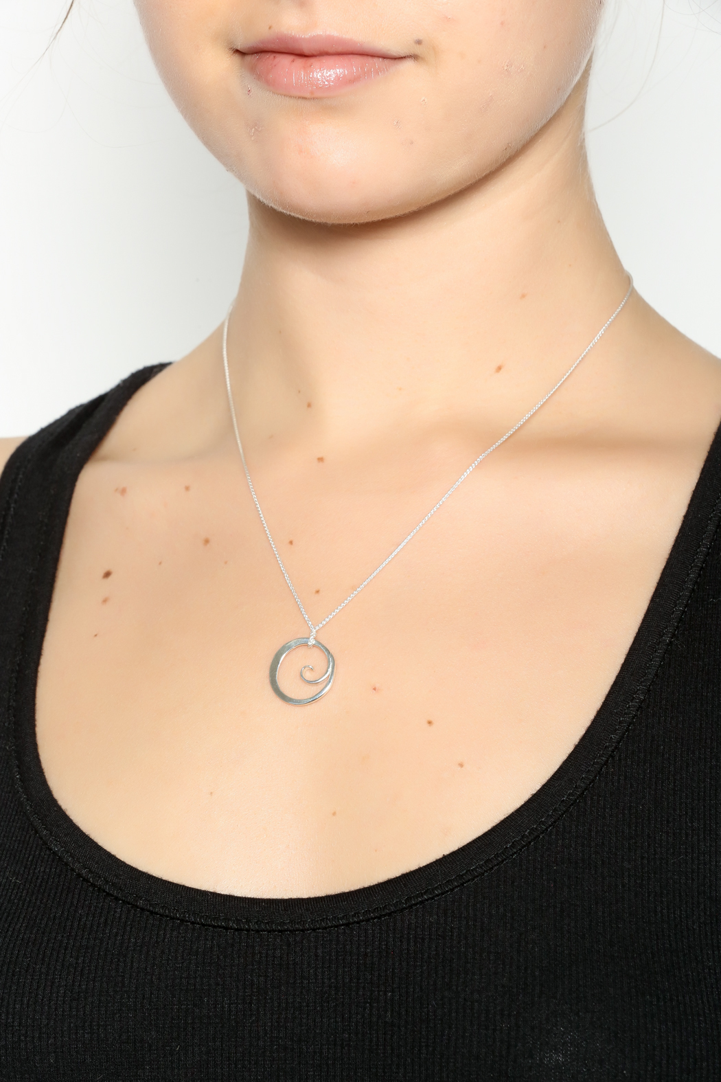 Jewelry studio of wellfleet floating wave necklace from for Just my style personalized jewelry studio