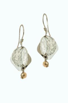 Jewelry By Wendy Textured Disc Earrings - Alternate List Image
