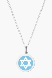 Auburn Jewelry Jewish Star Silver Pendant - Original - Product Mini Image