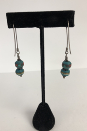 Toto Collection Jiade Bead Earrings - Back cropped
