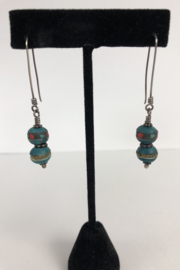 Toto Collection Jiade Bead Earrings - Product Mini Image
