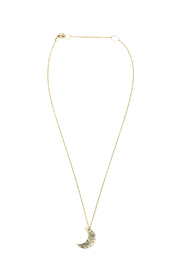 Jill Massey Couture Gold Moon Necklace - Product Mini Image
