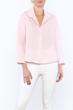 Shoptiques Product: Pink Silky Blouse