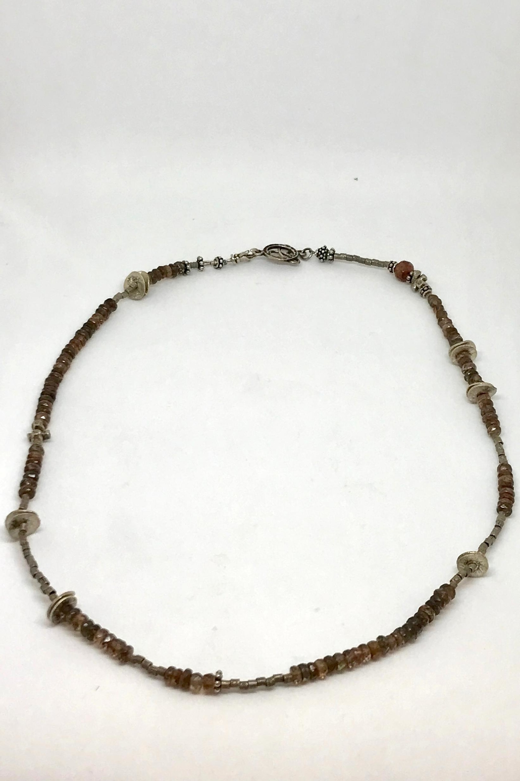 Jill Duzan Andalusite Silver Necklace - Main Image