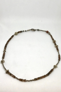 Jill Duzan Andalusite Silver Necklace - Alternate List Image