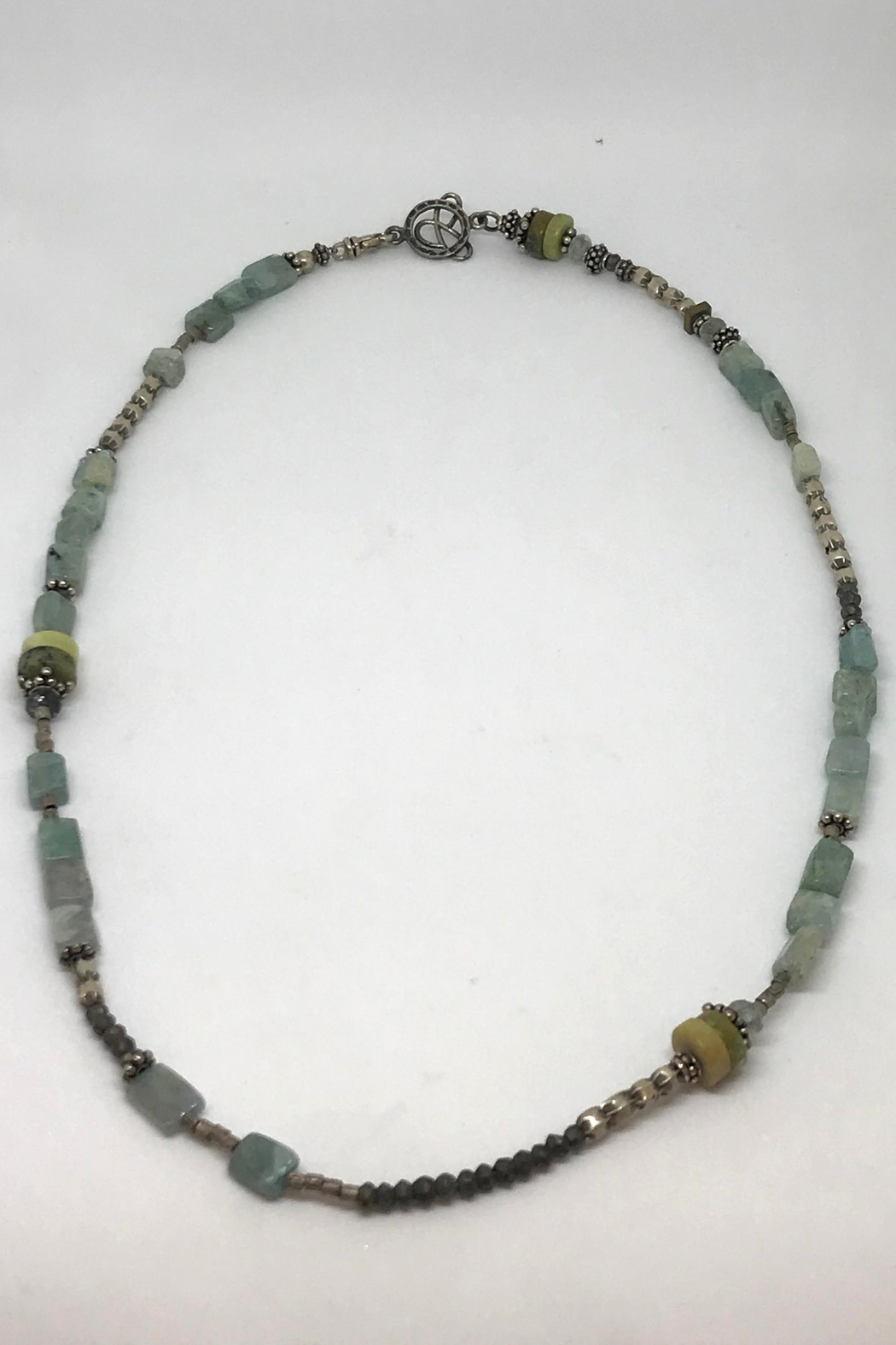 Jill Duzan Hematite And Pyrite - Front Cropped Image