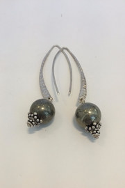 Jill Duzan Pyrite Earrings - Product Mini Image