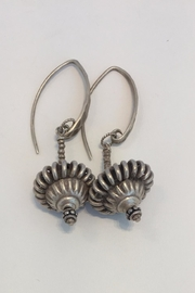 Jill Duzan Silver Lantern Earrings - Product Mini Image