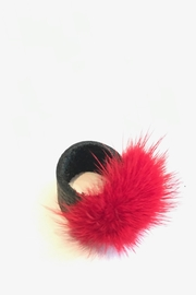 Jill K Bags Statement Mink-Ring Red - Product Mini Image