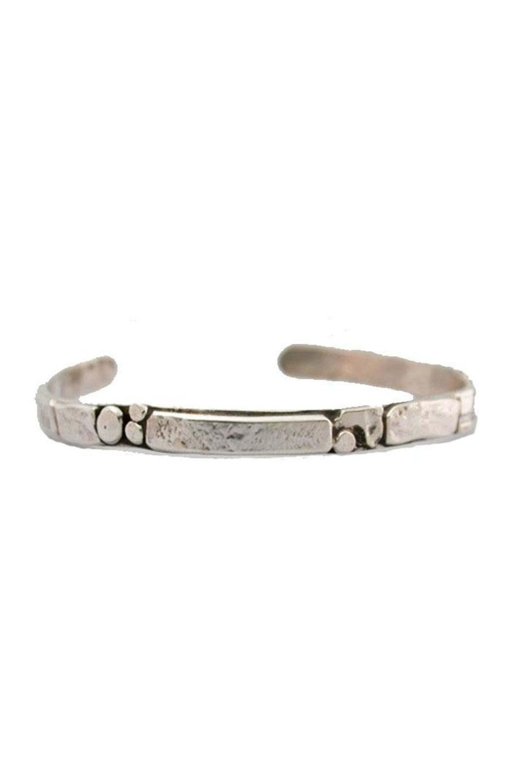Jill O'Reilly Sterling Cuff Bracelet - Front Cropped Image
