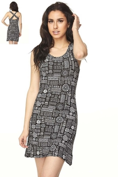 Shoptiques Product: Jillian Print Dress