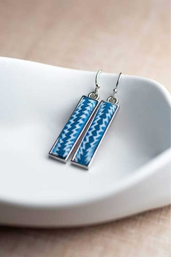 Jilzarah Navajo Bar Earrings - Product List Image