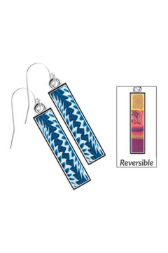 Jilzarah Navajo Bar Earrings - Alternate List Image