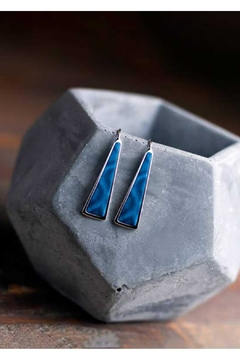 Jilzarah Navajo Triangle Earrings - Product List Image