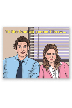 The Found  Jim & Pam Card - Alternate List Image