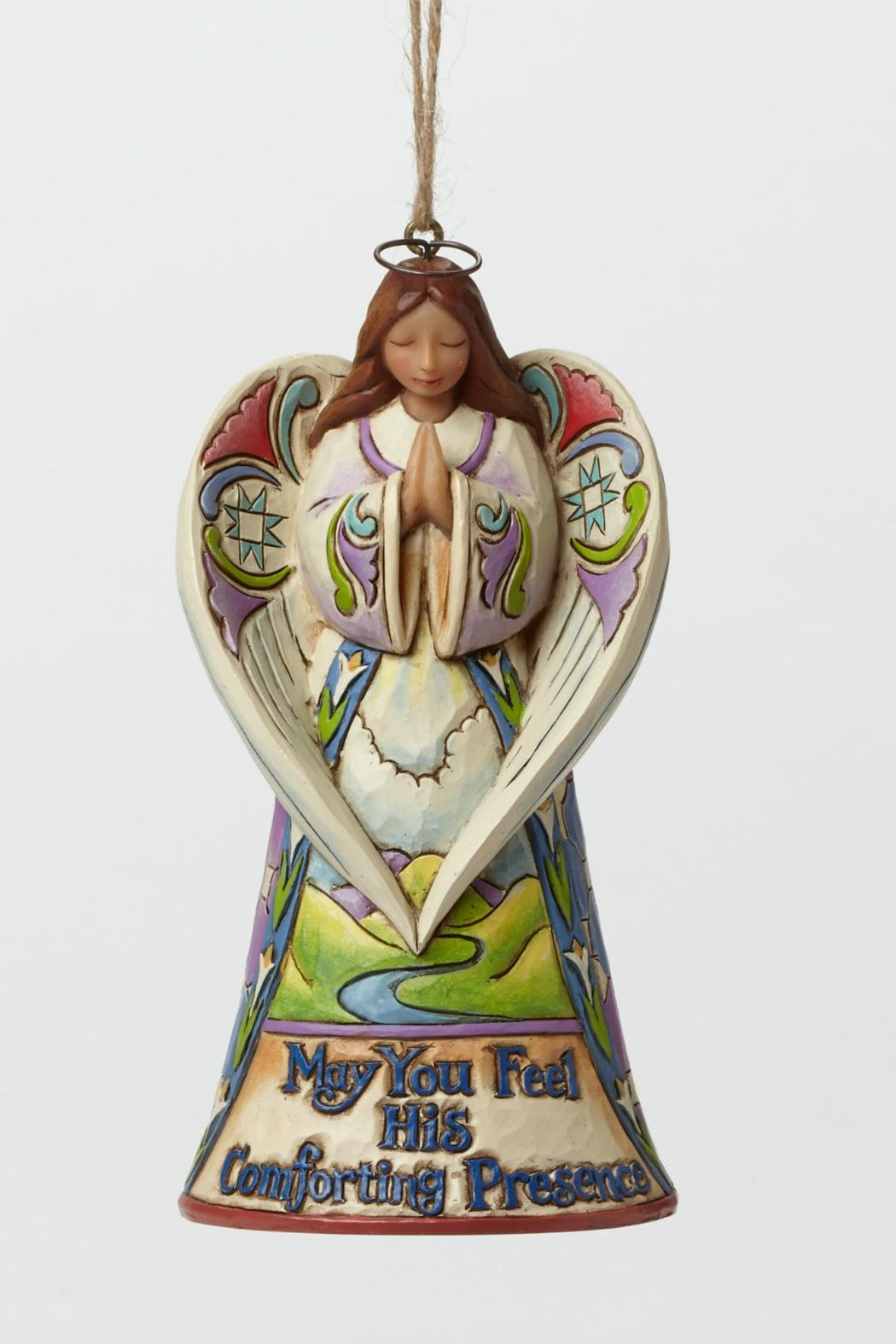 Jim Shore Bereavement Angel Ornament - Front Cropped Image