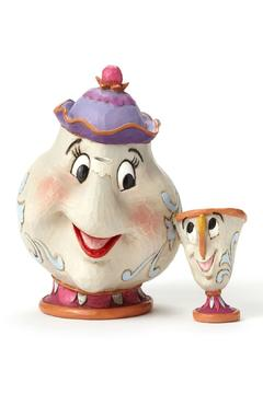 Jim Shore Mrs.Potts & Chip Figurine - Product List Image