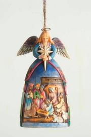 Jim Shore Nativity Angel Ornament - Product Mini Image