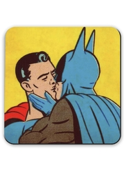 Jim Spinx Batman & Superman Kiss - Product Mini Image