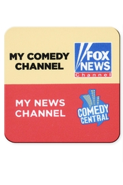Jim Spinx Comedy Channel Coaster - Product Mini Image