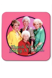 Jim Spinx Golden Girls Coaster - Front cropped