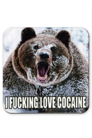 Jim Spinx Love Cocaine Coaster - Product Mini Image