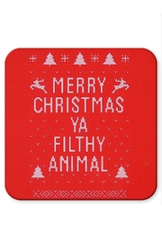 Jim Spinx Merry Christmas Coaster - Product Mini Image