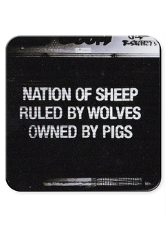 Shoptiques Product: Nation Sheep Coaster