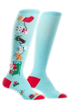 Sock it to me Jingle Cats Socks - Alternate List Image