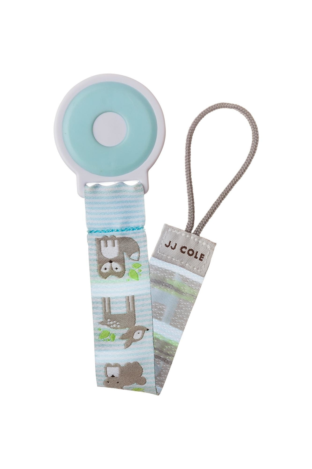 JJ Cole Fabric Pacifier Clip - Front Cropped Image