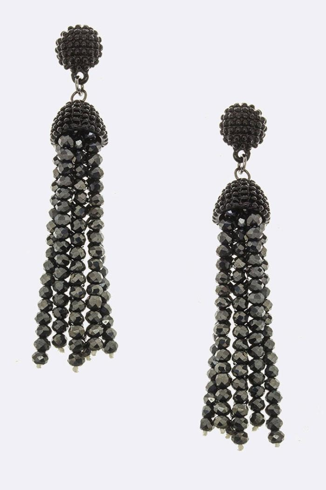 JM Bead Tassel Earrings - Main Image