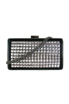 JNB Metallic Studded Clutch - Alternate List Image