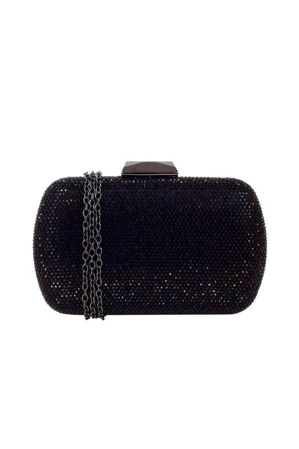 JNF Hard Crystal Clutch - Front Cropped Image