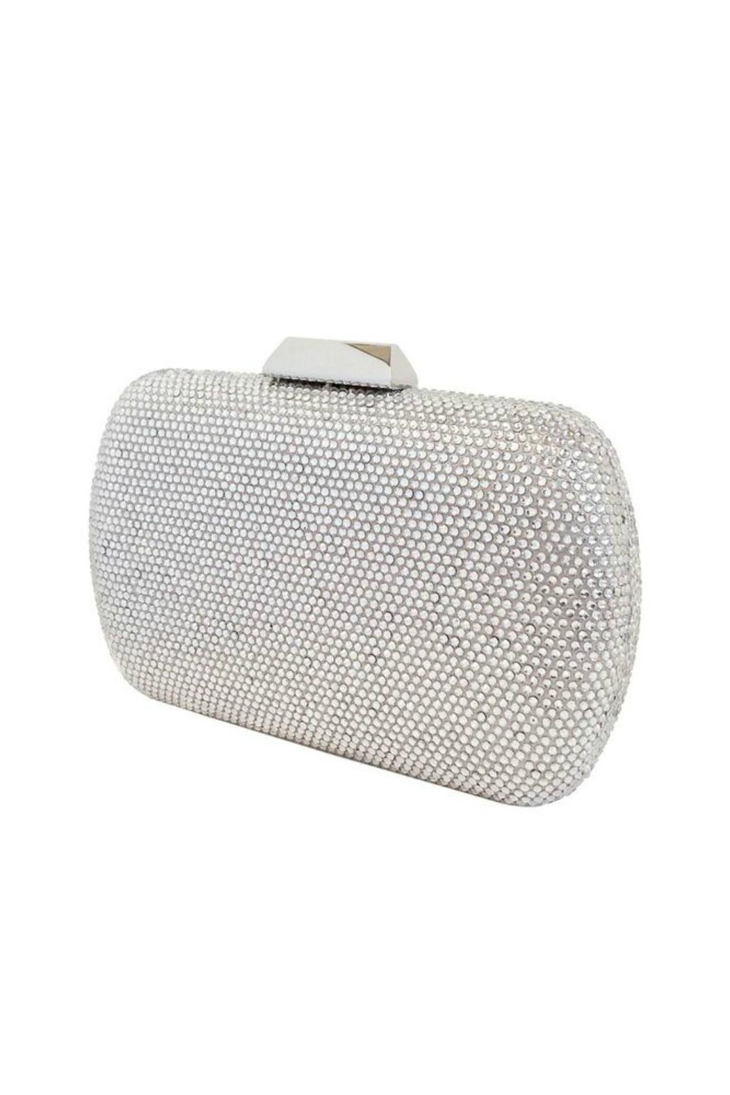 JNF Hard Crystal Clutch - Front Full Image